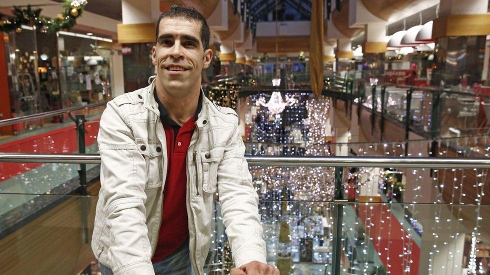 José Manuel Prado. Boccia. Residente en O Carballiño ya participó en los Juegos de Londres donde llegó a octavos.