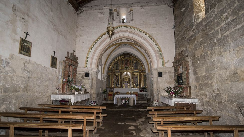 Interior de la iglesia de San Xillao