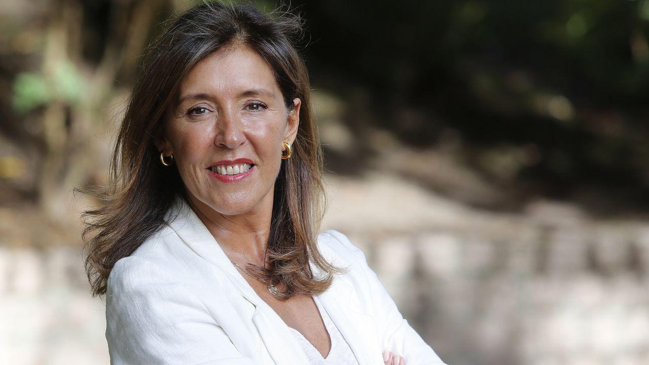 Beatriz Mato, en una foto de agosto del 2020 en Ourol
