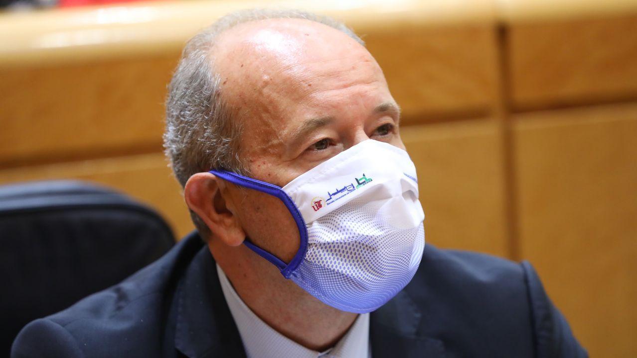 El ministro de Justicia, Juan Carlos Campo, en el Congreso