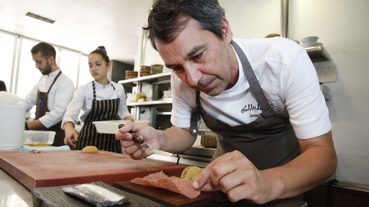 Vilamarín, donde empezó todo para los tres estrella Michelin ourensanos.Culler de Pau hacía este lunes historia al convertirse en el primer restaurante gallego con dos estrellas
