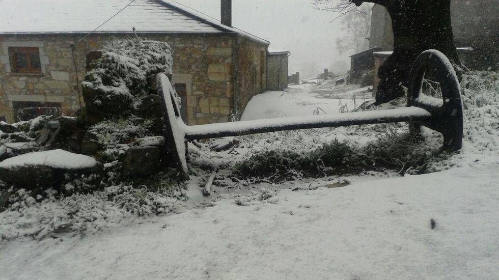 Nieve en Monforte