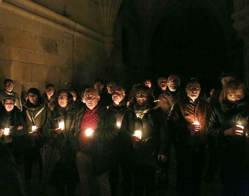 Las visitas teatralizadas nocturnas son un éxito de público en el convento