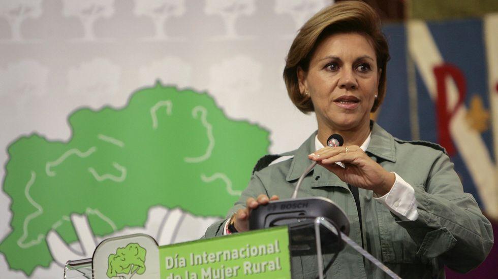 Cospedal, de escudo de Rajoy a ministra de Defensa