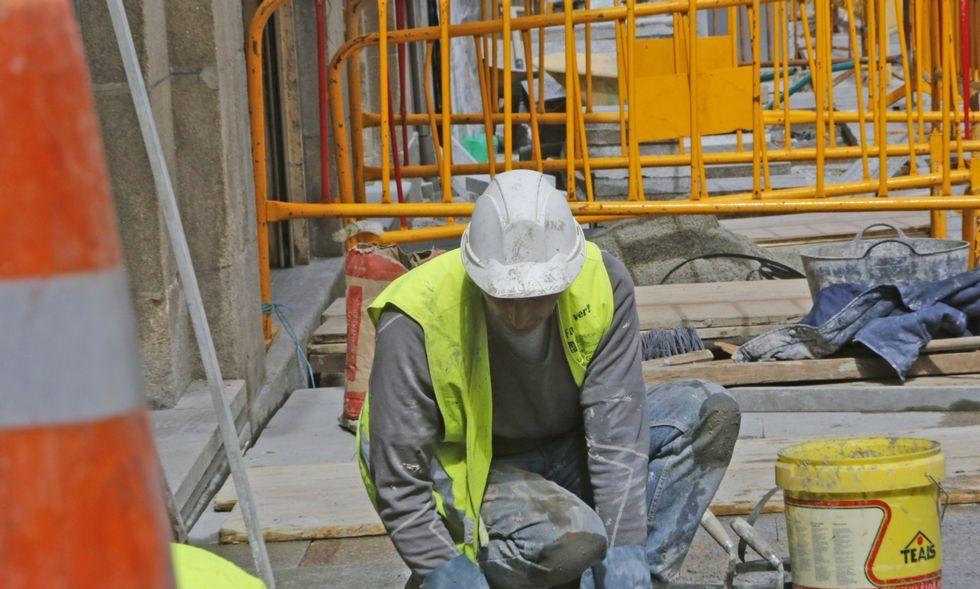 El paro bajó en casi doscientas personas en el sector de la construcción el mes pasado.