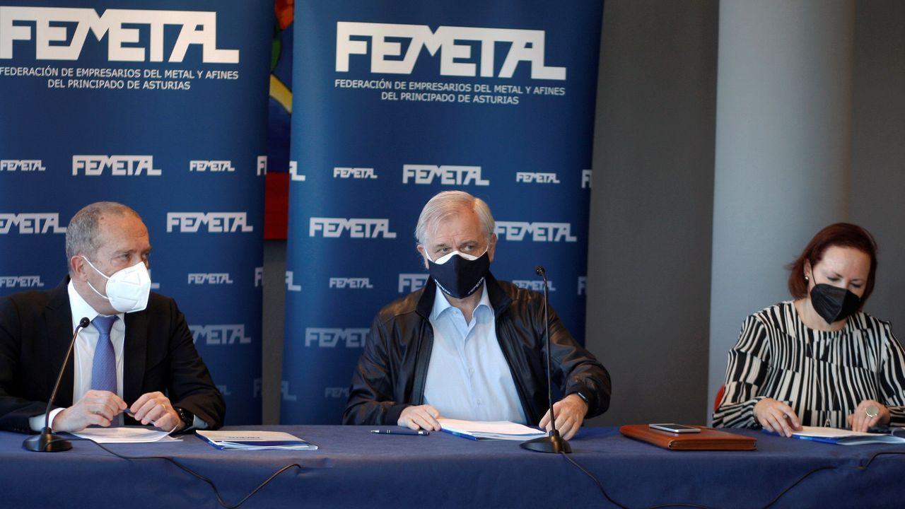 Guillermo Ulacia, Fernando Alonso y María Pérez