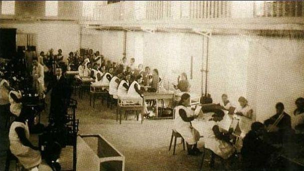 Foto histórica Lámparas Iria
