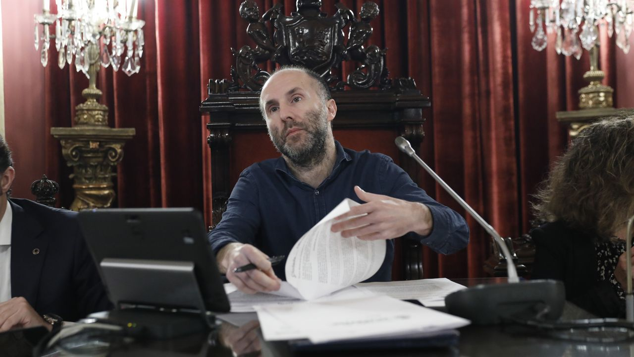 ana.Gonzalo Pérez Jácome, alcalde de Ourense