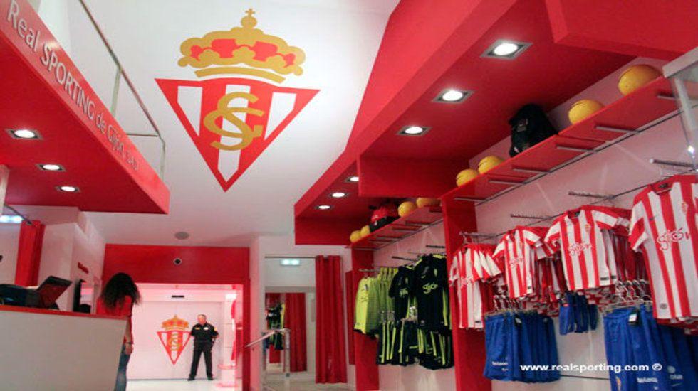 La tienda del Sporting, una de las más caras de Primera