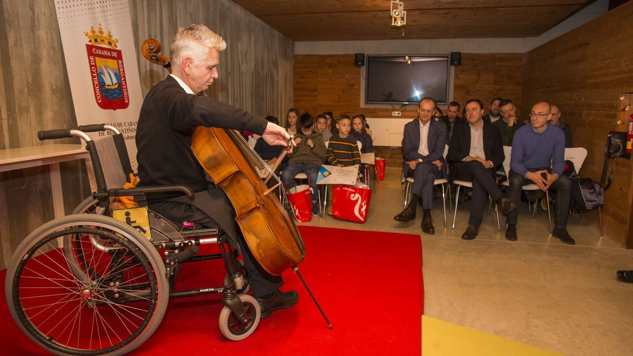 Concierto del violonchelista Vladimir Von Litvikh