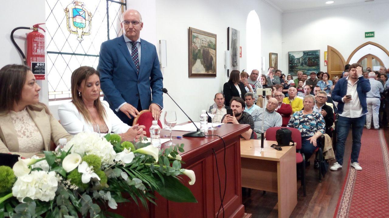 Imagen del pleno de investidura celebrado en junio del 2019