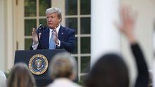 Trump quiere reabrir la economía del país cuanto antes a pesar de registrar un nuevo récord de fallecidos
