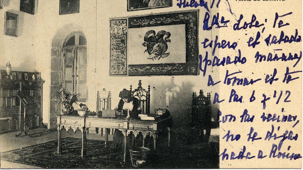 Meirás,el fantasma de Franco que persigue a Emilia Pardo Bazán.La escuela infantil de Salgueiriños cerró una de sus cuatro aulas de 1 a 2 años