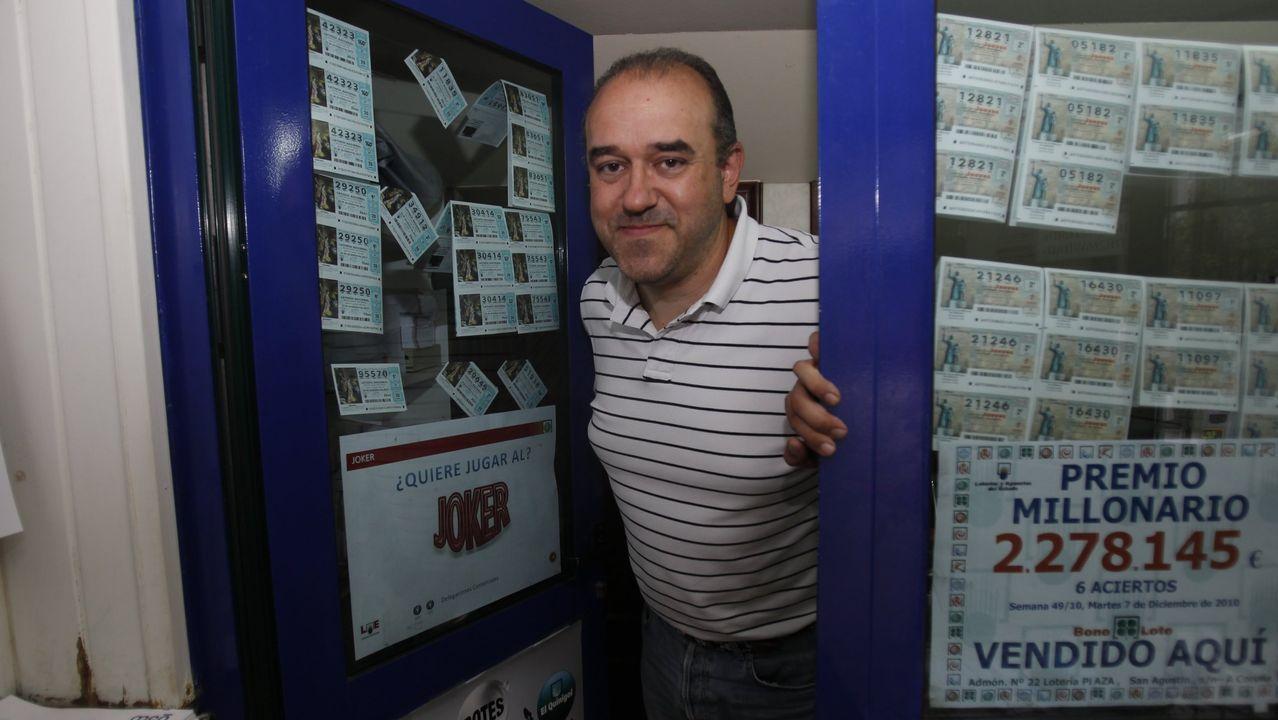 Accidente mortal de un ciclista en 2016.Manuel Reija, el lotero que selló y aseguró haber encontrado extraviado el boleto premiado con 4,7 millones