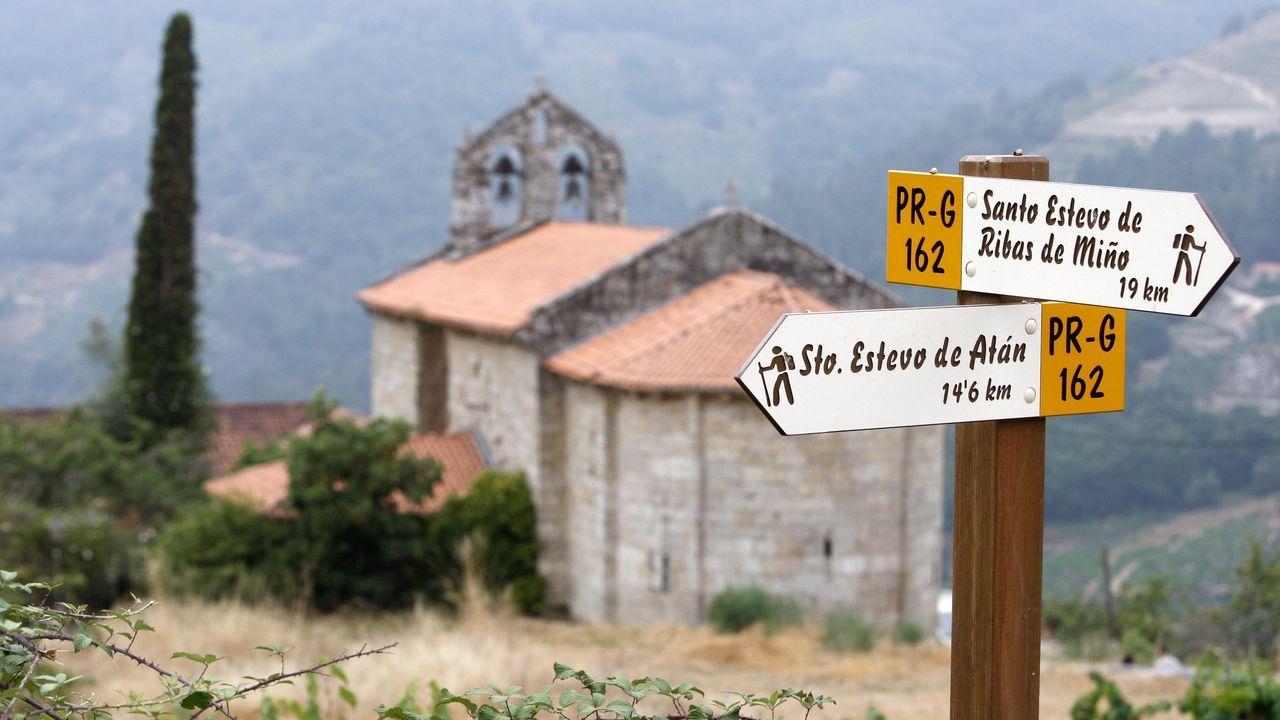El recorrido previsto en O Saviñao comenzará en la iglesia románica de San Martiño da Cova