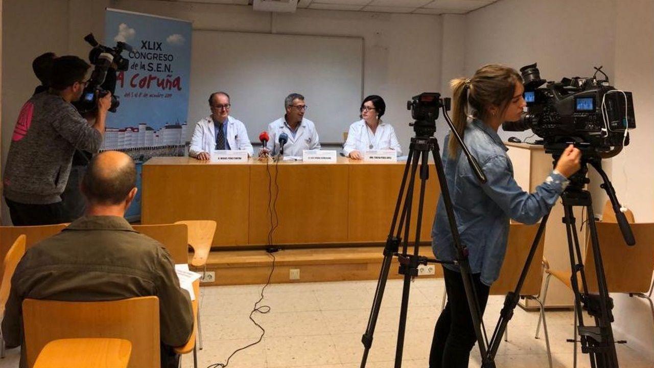 Presentación del XLIX Congreso Nacional de la Sociedad Española de Nefrología en el CHUAC.Presentación del XLIX Congreso Nacional de la Sociedad Española de Nefrología en el CHUAC