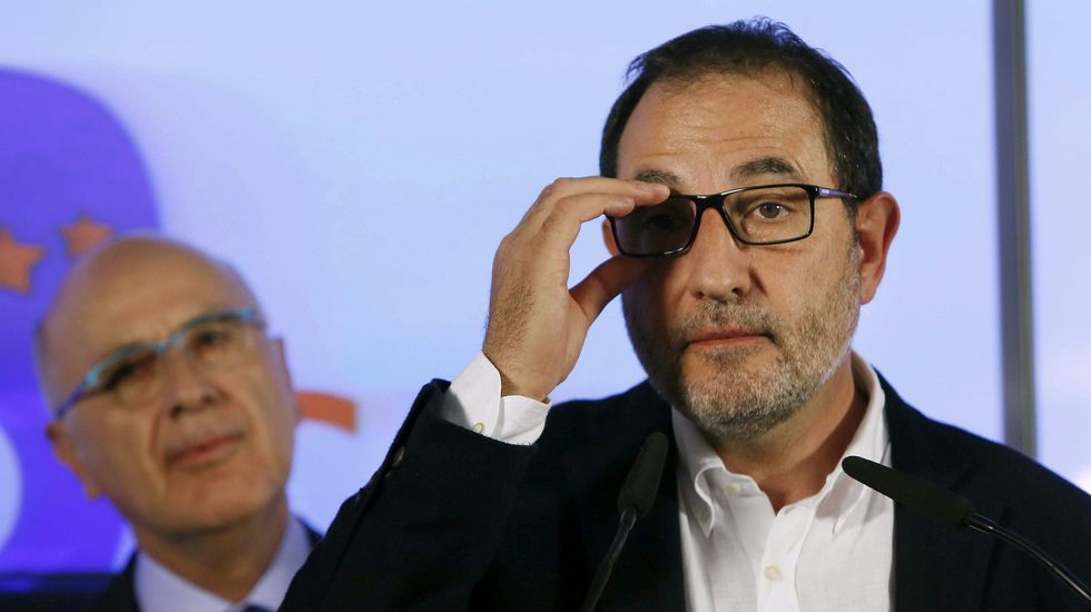 Ramon Espadaler, uno de los grandes perdedores en estos comicios. El candidato de Unió a la Generalitat ha ha admitido su «derrota» tras no obtener representación parlamentaria