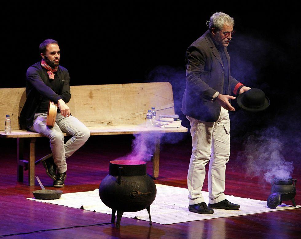 Celso Fernández y Carlos Blanco actuarán en Lalín el 27 de marzo.