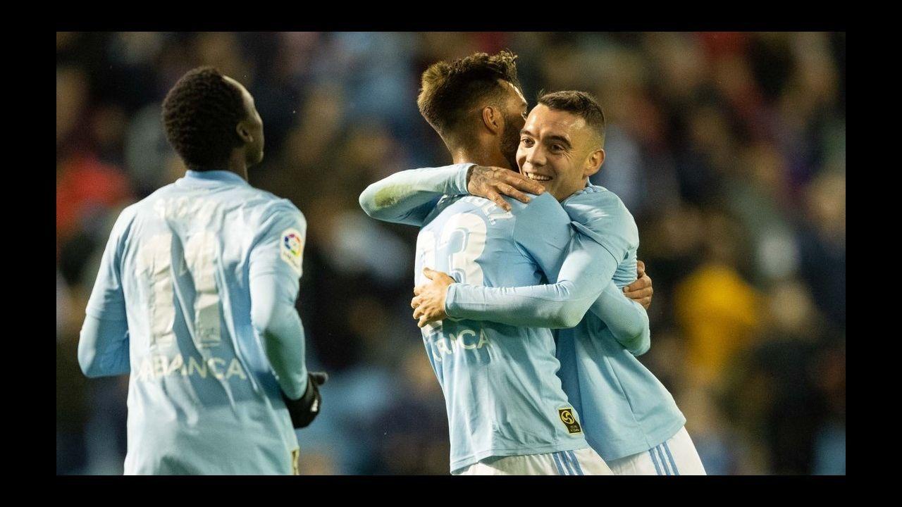 281 - Levante-Celta (1-2) de Primera el27 de agosto del 2018