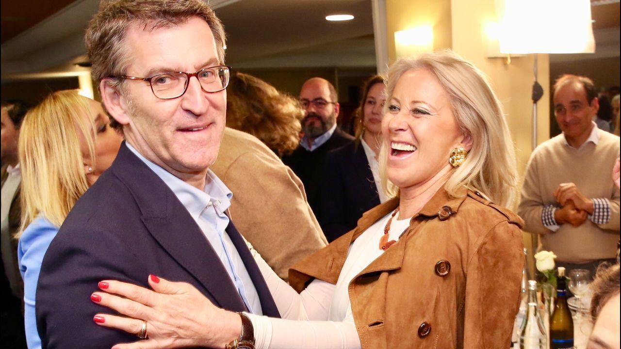 Mariano Rajoy en Pontevedra.La alcaldesa de Marín, al Congreso. María Ramallo (Marín, 1970) fue la sorpresa de última hora de la lista del PP por Pontevedra. Sus éxitos electorales en Marín, donde es alcaldesa desde el 2011, le sirvieron como aval para reemplazar a Ana Pastor y regresar así al Congreso, donde ya estuvo entre el 2009 y el 2011