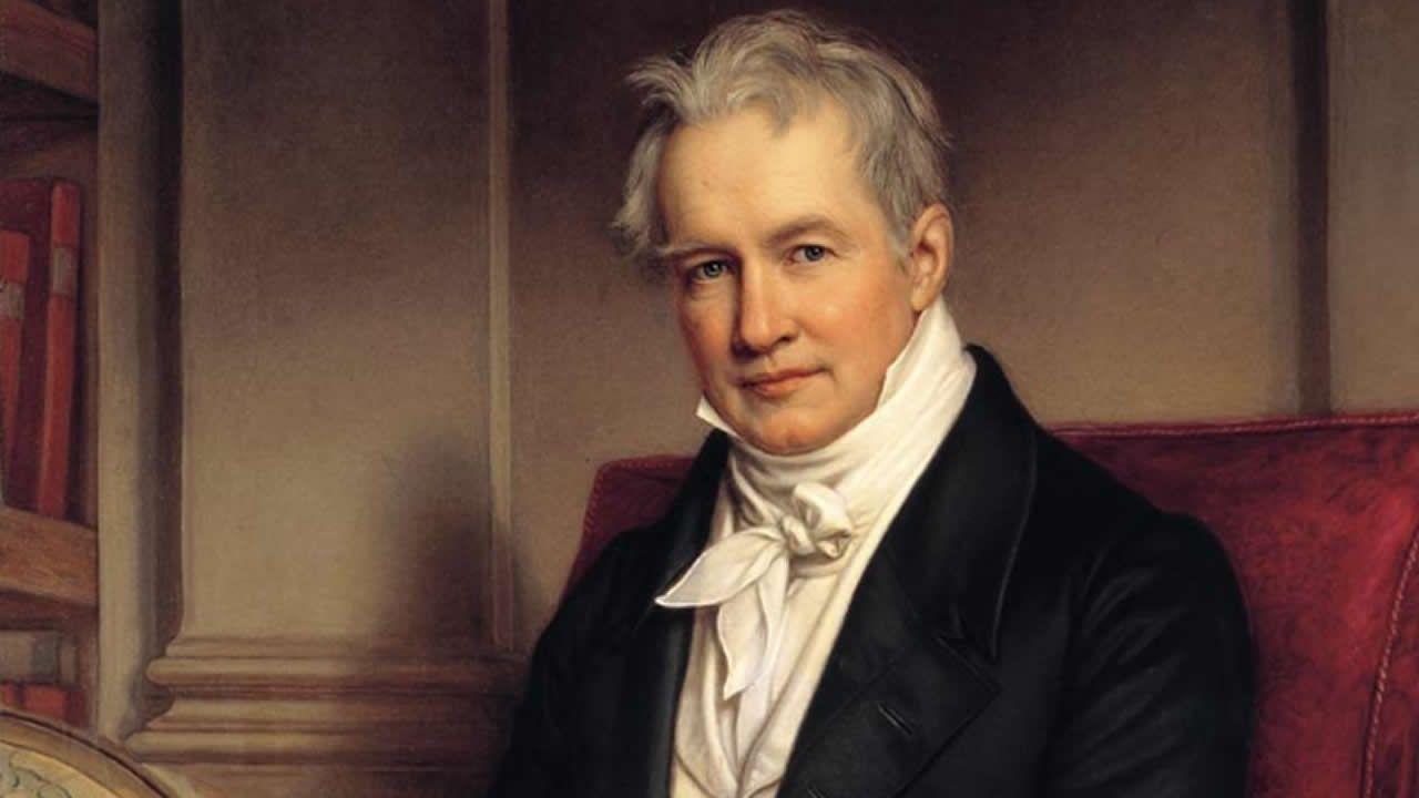 Alexander von Humboldt , naturalista alemán