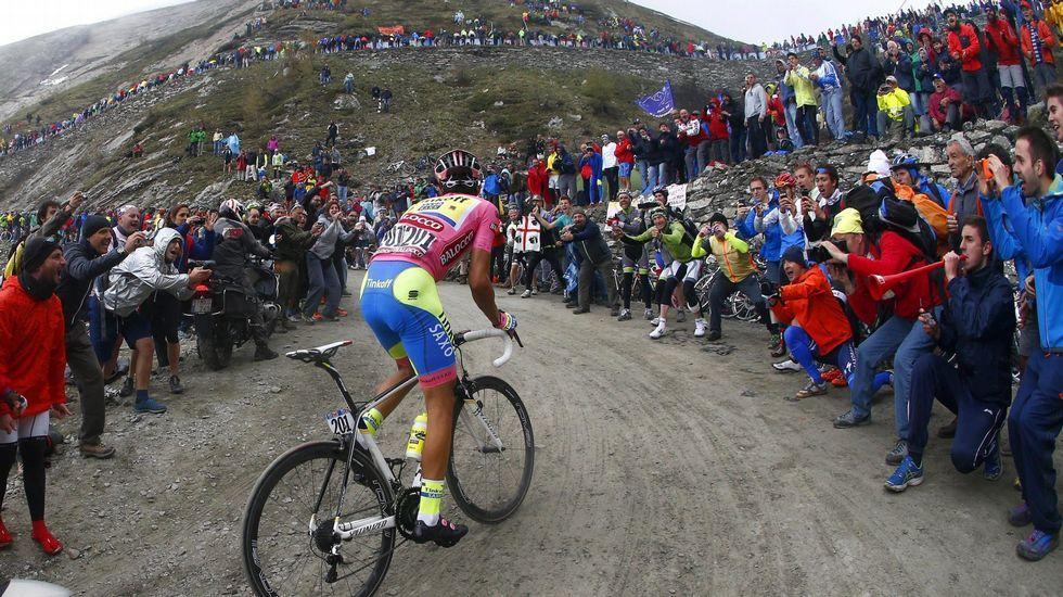 El Tour pedalea hacia su estreno holandés.Van Garderen, antes de abandonar