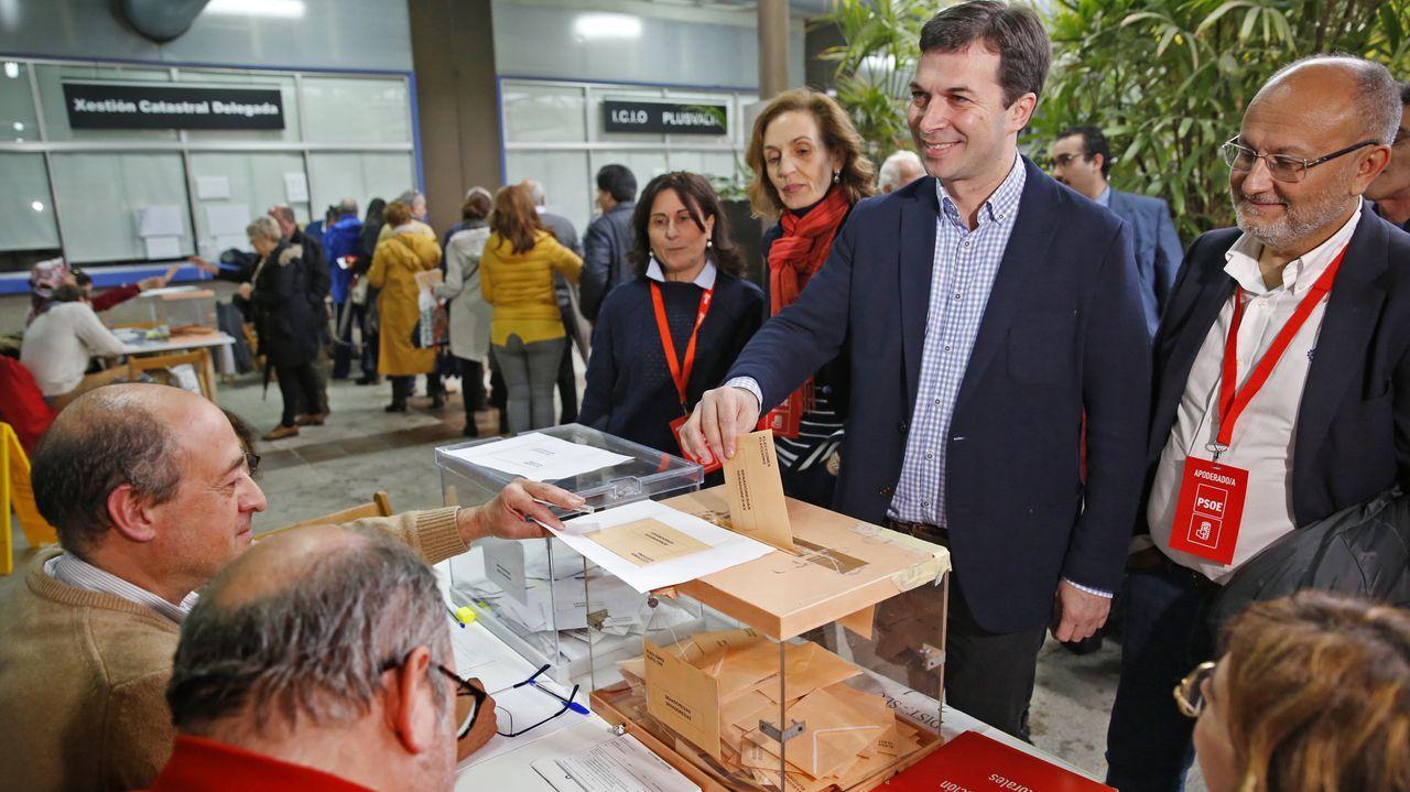 El líder de los socialistas gallegos Gonzalo Caballero