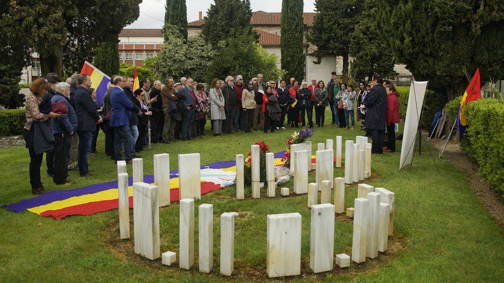 El último acto de homenaje a los represaliados fue en el 2019 (foto)