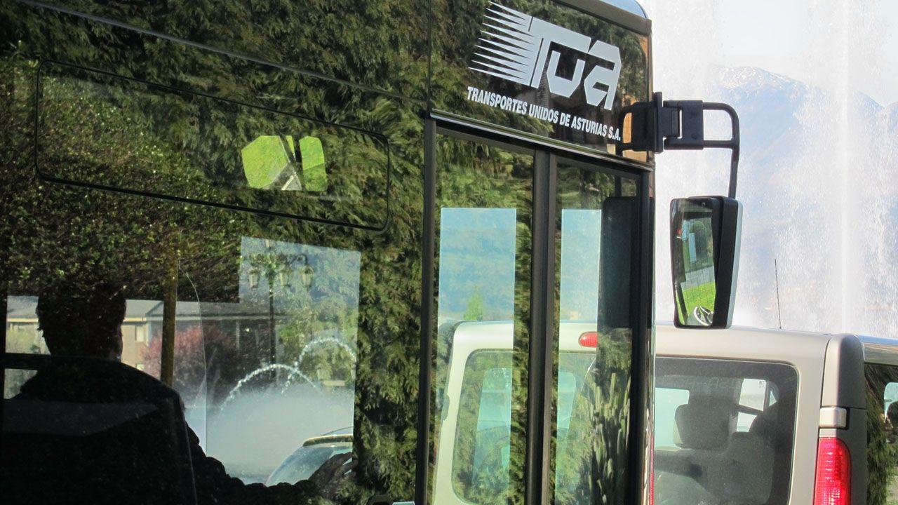 Un autobús de TUA