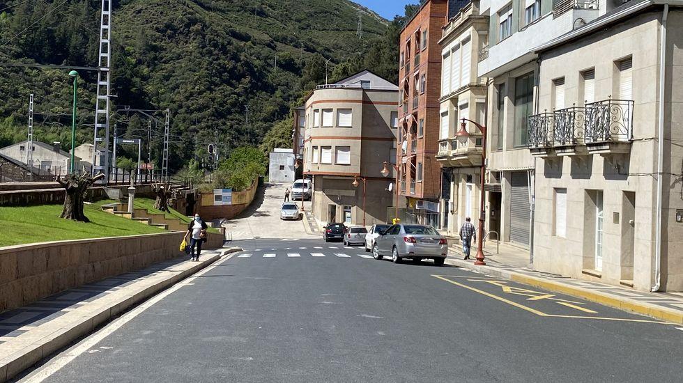 Carballeda de Valdeorras está en cierre perimetral desde el lunes 12 de abril