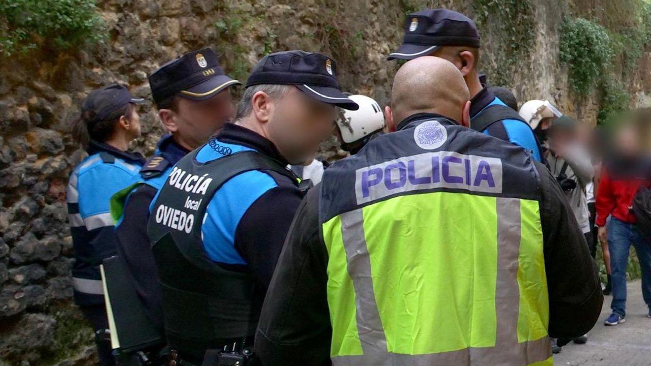 Controles en zonas de ocio nocturno, en Oviedo