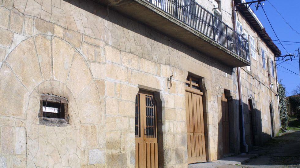 Casa de la familia Gaibor, cerca de la Porta Nova, uno de los accesos al interior de la muralla