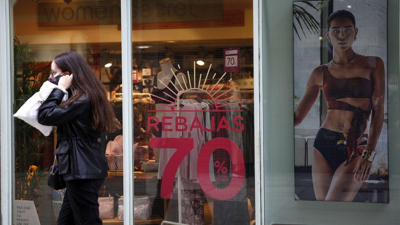 Una tienda de lencería, en una imagen de archivo