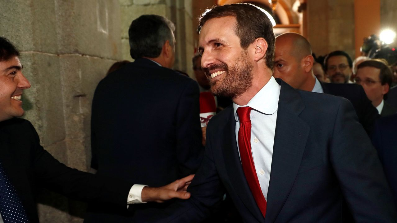 Díaz Ayuso: «Hoy empieza todo, desde luego para mí»