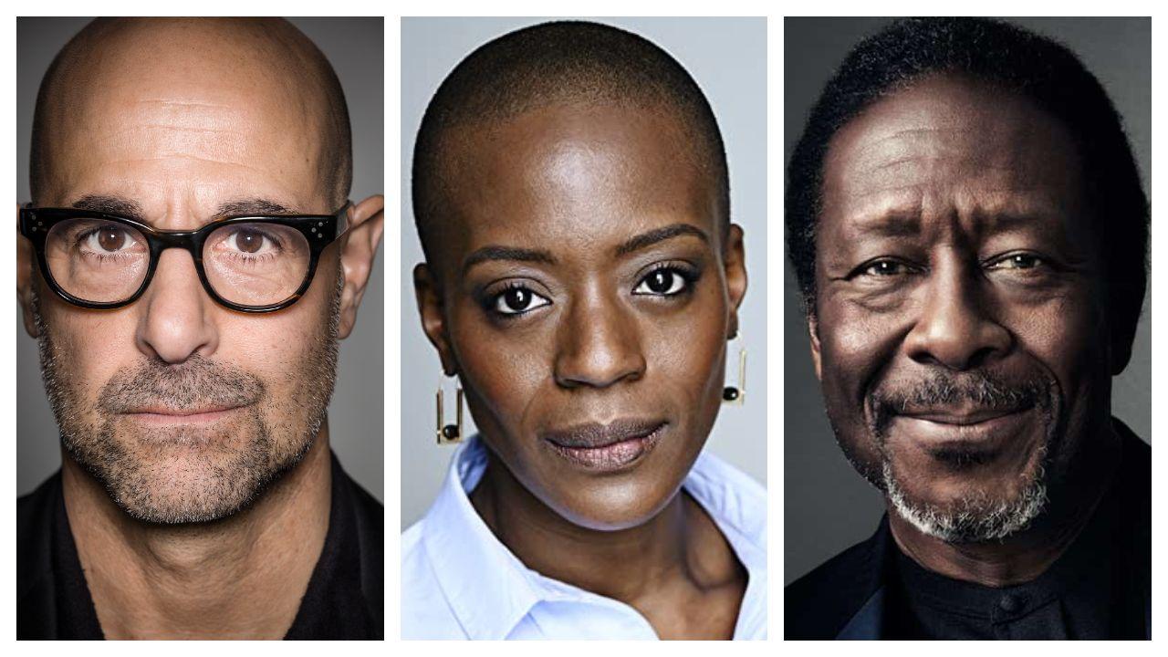 Stanley Tucci, T´Nia Miller y Clarke Peters, tres de los actores internacionales confirmados para la serie