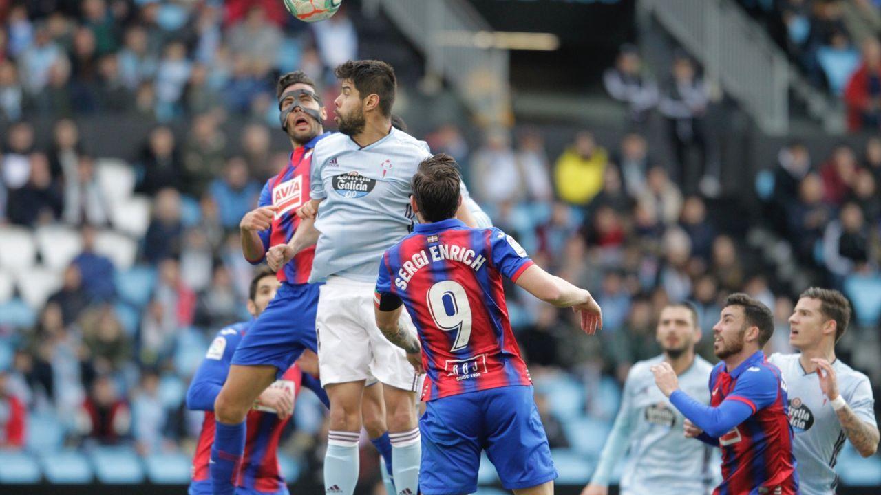 Óscar García: «Queremos ser un equipo ganador, dinámico y agresivo».Las imágenes que solían dejar los Eibar-Celta son imposibles esta temporada