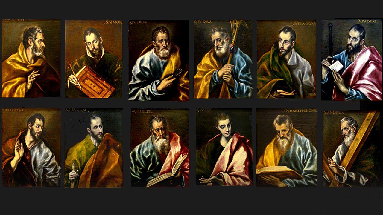 El 'Apostolado' de El Greco del Museo de Bellas Artes de Asturias