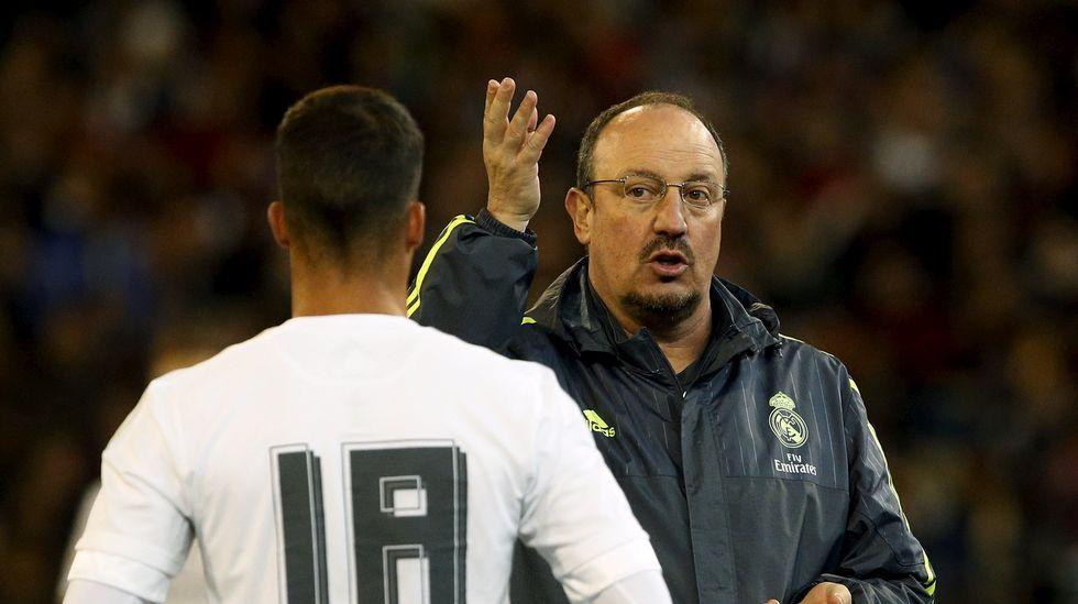El enfado de Cristiano Ronaldo