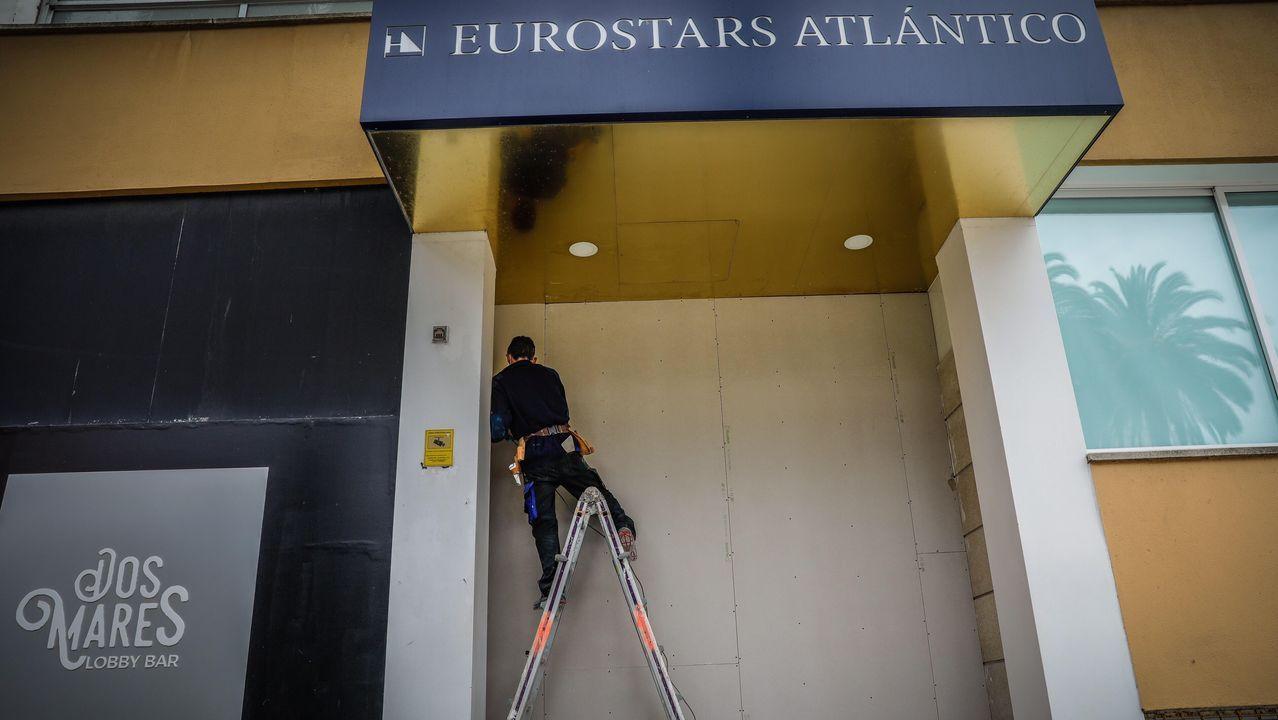 atlantico.EL HERMANO MAYOR: El Grupo Hotusa rebautizó al NH Atlántico como Eurostars Atlántico cuando se hizo con su concesión municipal en agosto del 2018. Levantado sobre el que un día fue el Atlantic Hotel, de 1923 y derruido en 1967, es el hotel con más habitaciones de la ciudad, 199 en total