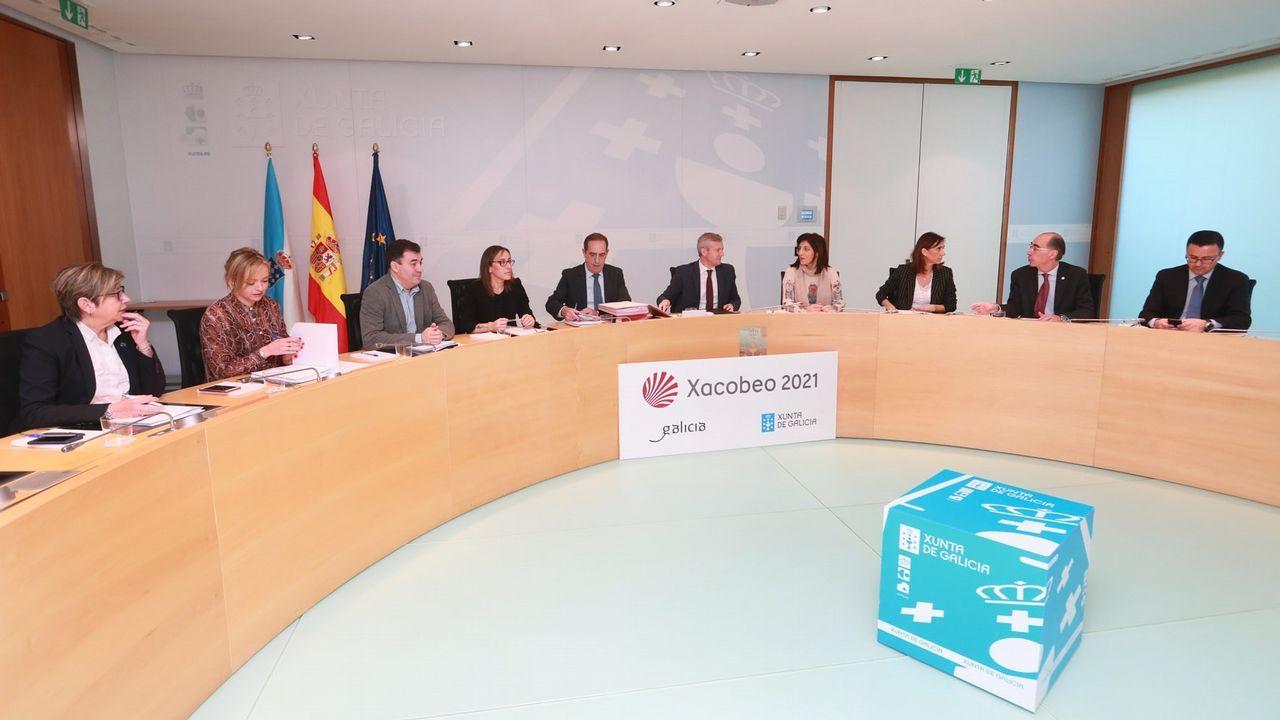 Reunión del Consello de la Xunta presidido por Alfonso Rueda