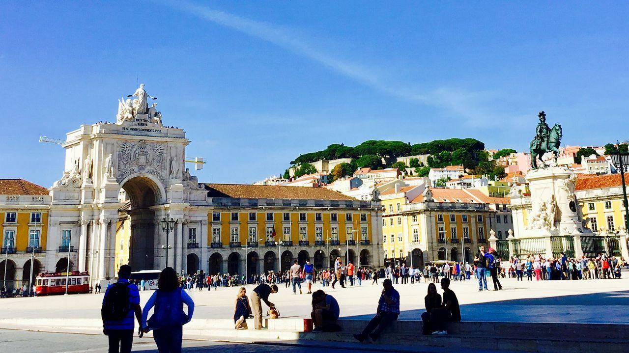 Plaza del Comercio de Lisboa, uno de los lugares más turísticos de la capital portuguesa