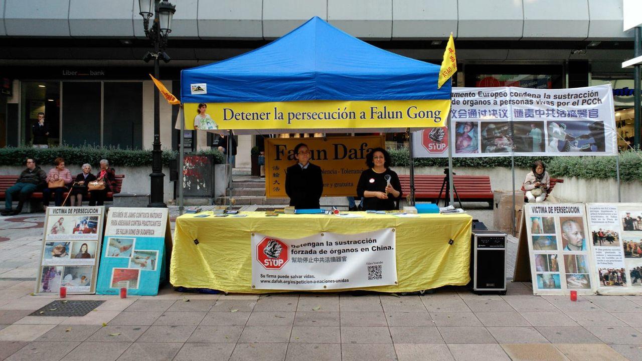 El sistema chino de cultivación de cuerpo y mente Falun Dafa en Oviedo