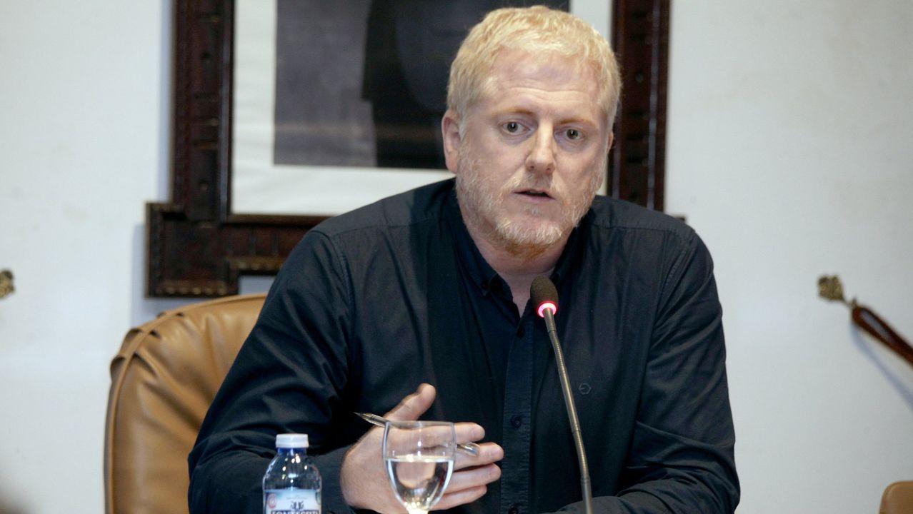 El alcalde de A Pobra, Xosé Lois Piñeiro
