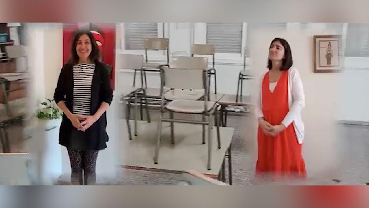 Vídeo de ánimo del CEIP Xunqueira de Pontevedra.El pacto de gobierno entre el PSOE y Xuntos por Laza está en crisis después de un año de mandato en el Concello de Laza.