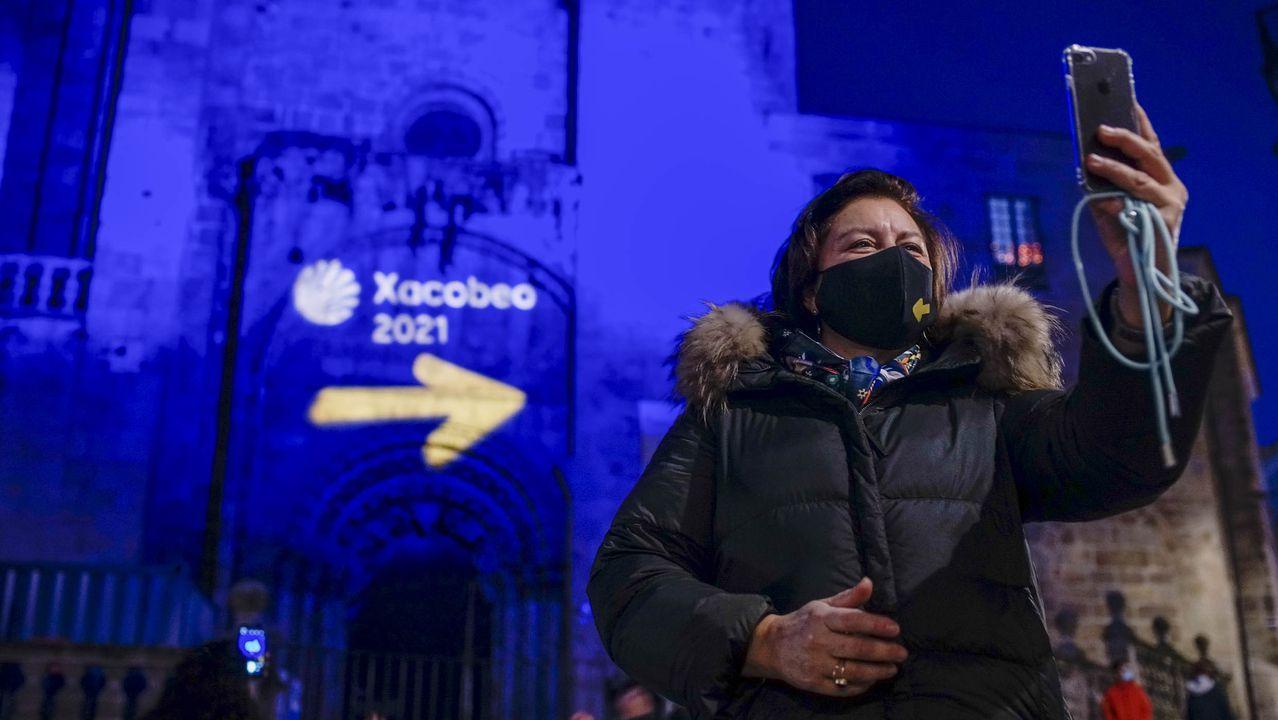 Siete tesoros ocultos en la capital.Iluminación en la catedral de Ourense