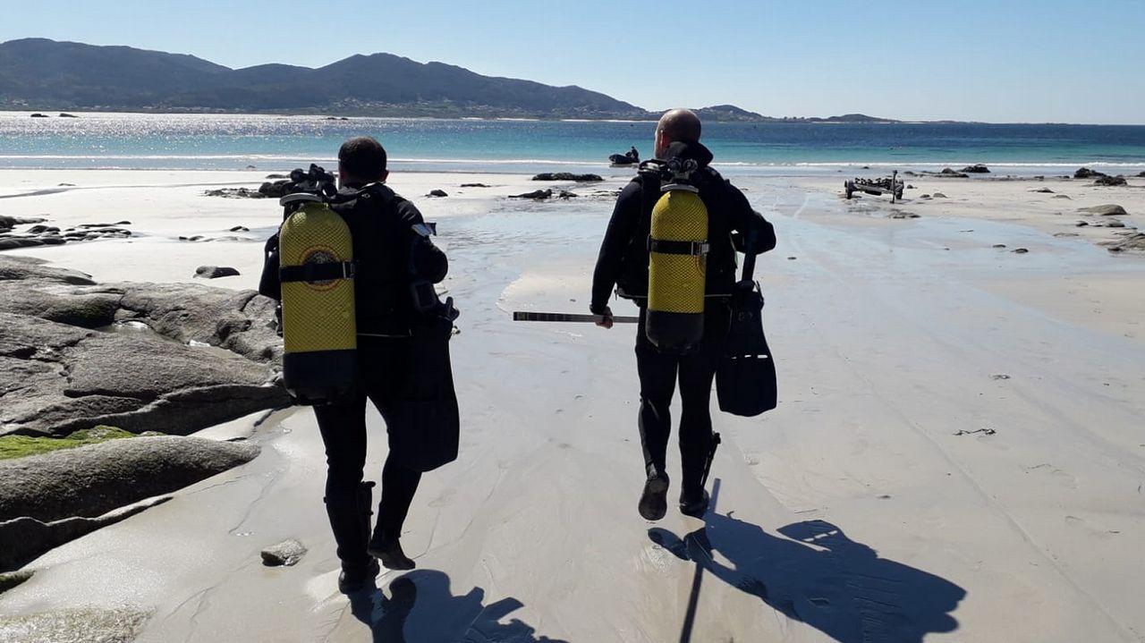 Los especialistas identificaron la pieza cerca de la playa Boca do Río