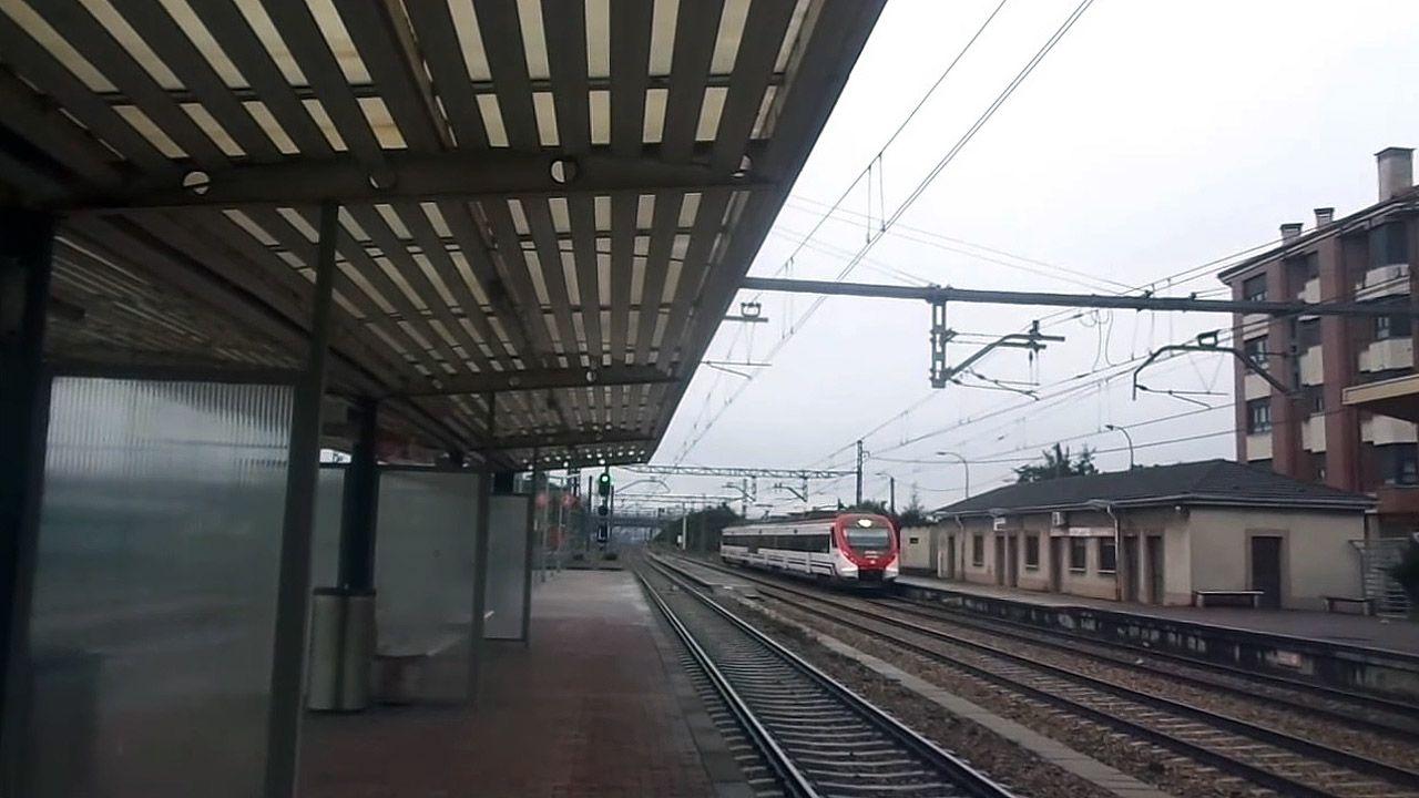 Estación de tren de Lugo de Llanera