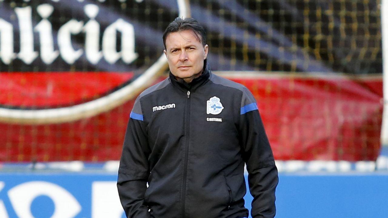 Carlos Fernández en un Sevilla Atlético-Lugo