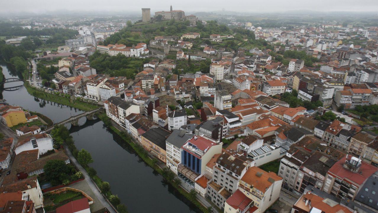 Una visita en imágenes al punto de encuentro de los ríos Cabe y Sil.Monforte concentra gran parte de las viviendas de uso turístico del sur de la provincia, con cerca de medio centenar