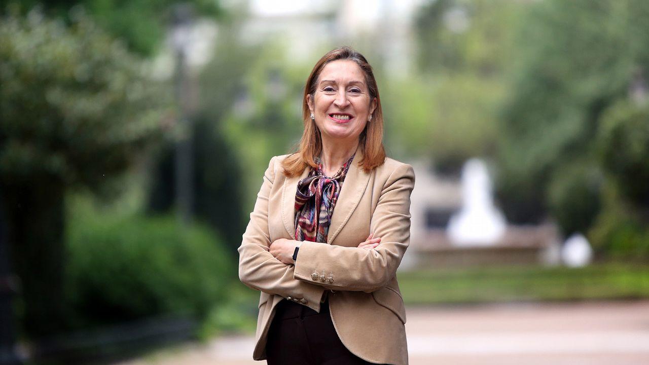 Pablo Casado: «Somos conscientes de los errores».Ana Pastor, candidata del PP al Congreso por la provincia de Pontevedra, encarará su séptima legislatura como parlamentaria